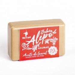 JABÓN DE ALEPO 10% AZAFRÁN