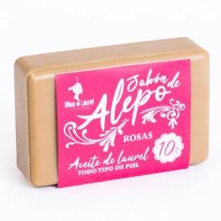 JABÓN DE ALEPO 10% ROSAS