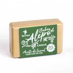 JABÓN DE ALEPO 10% AMBAR